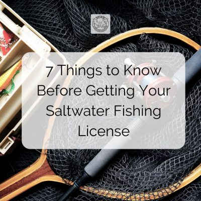 7 Things to Know Before Getting Your Saltwater Fishing License