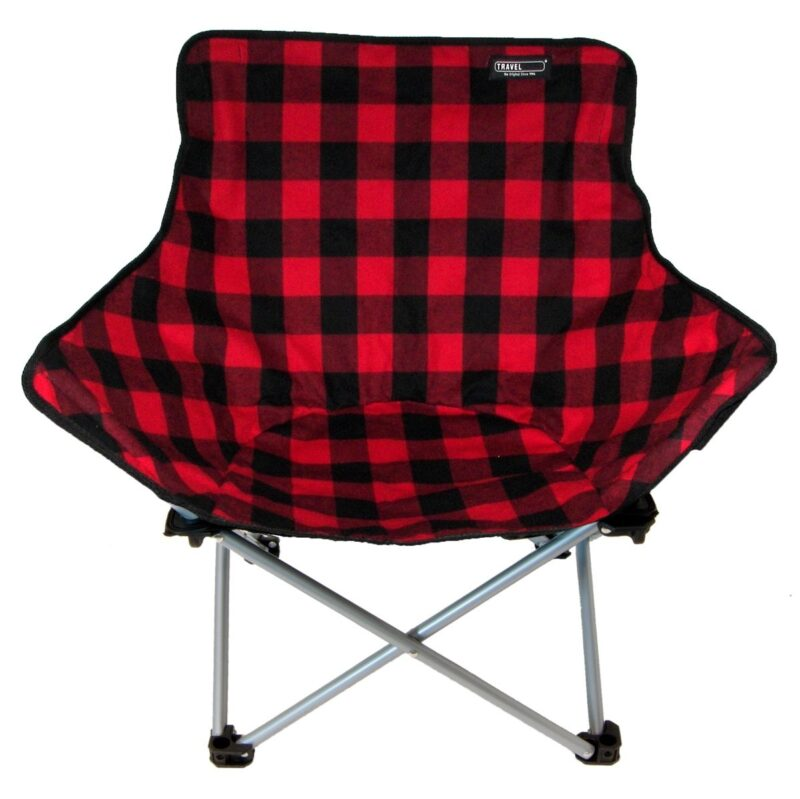 Black and Red ABC Relax Chair