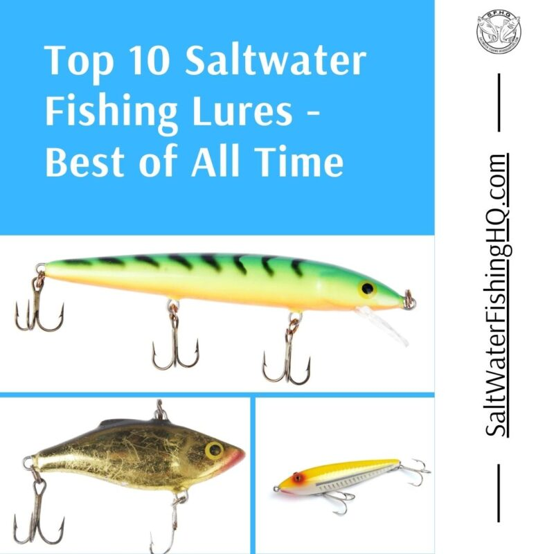 Top 10 Saltwater Fishing Lures - Best of All Time